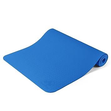 Esterilla de yoga antideslizante más larga y ancha que otras ...