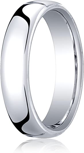 Top 10 Jewelry Gift 10KY 5mm Standard Flat Comfort Fit Band Size 10.5