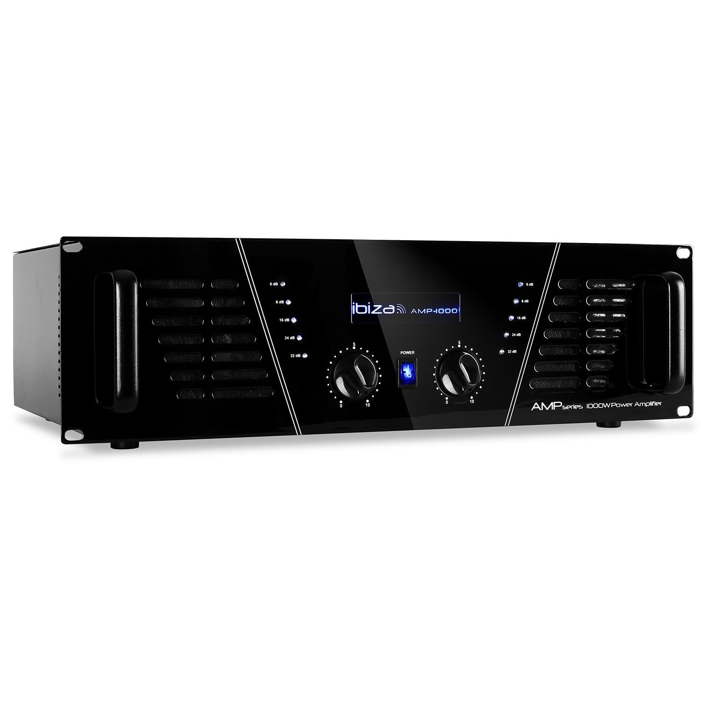 Ibiza amplificateur DJ PA 1600W mosfet pro rack stereo BD-Ibiza1000