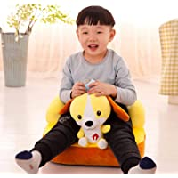 Chocozone Skylofts Plush Dog Sofa/Chair Soft Toys for Boys and Girls Room