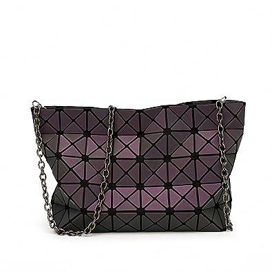 sale retailer dd467 c2fe7 NEW Women Handbag Bao Bao Bag Geometry Luminous Sequins Plain Folding  Shoulder Bags Tote Famous Brands Lady BaoBao Handbags