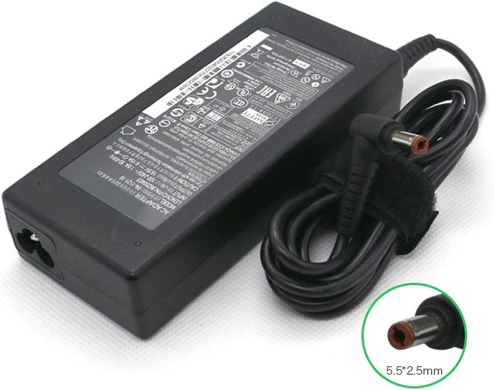 New 19V 6.15A 120W 5.5 X 2.5mm Power Adapter Compatible with Lenovo Y500 Y500N Y550 Y560 Y570 Y580 Y650 PA-1121-16 36200403 ADP-120LH B Laptop