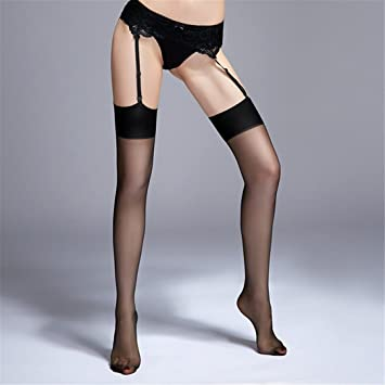 Ladies in nylon stockings