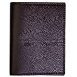 Wilt 1862 Chocolate Thomas Leather Passport Wallet