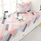 Modern Bay window sill pad Bench mat sofa mat rug bay window cushion cover -F 45x45cm(18x18inch)