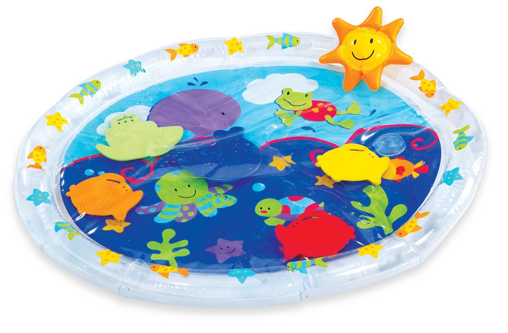 Earlyears Fill 'N Fun Water Play Mat for Tummy Time International Playthings E00186