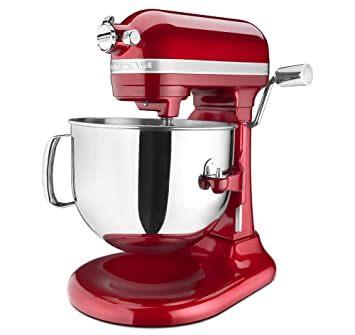 Delightful KitchenAid KSM7586PCA 7 Quart Pro Line Stand Mixer Candy Apple Red