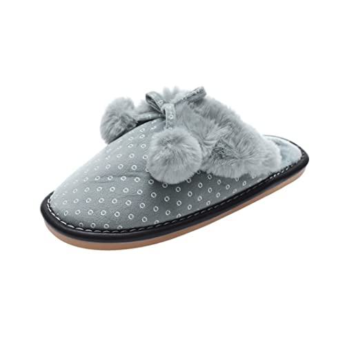Faux Fur Slipper Stylish Women Open Toe Fluffy Plush Flat Sandals Fuzzy Slip On Shoes