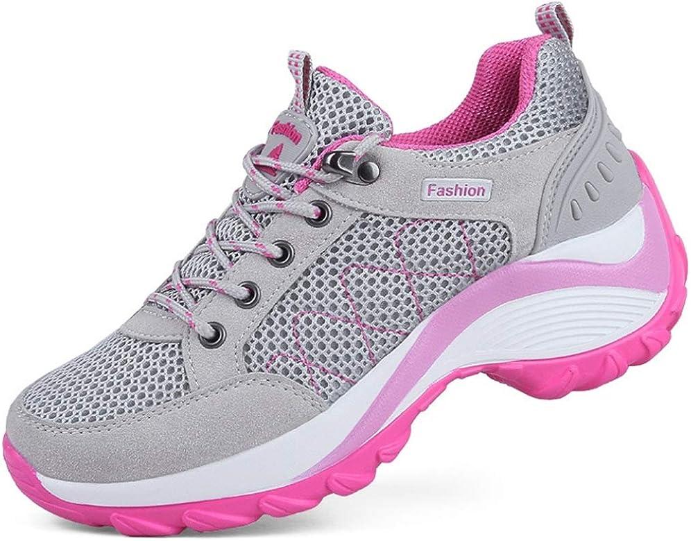 Zapatillas de Plataforma para Mujer Verano Transpirable Ahueca ...