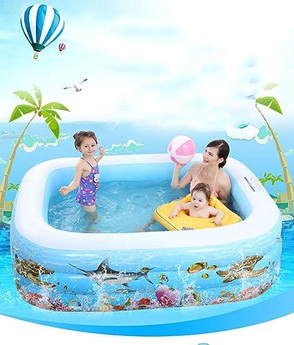 INTEX Luxus Familienpool 229 x 229 x 66 cm Pool Lounge Swimmingpool f/ür Garten