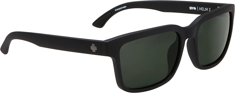 8a6f996bb3 SPY Optic Helm 2 Sunglasses at Amazon Men s Clothing store