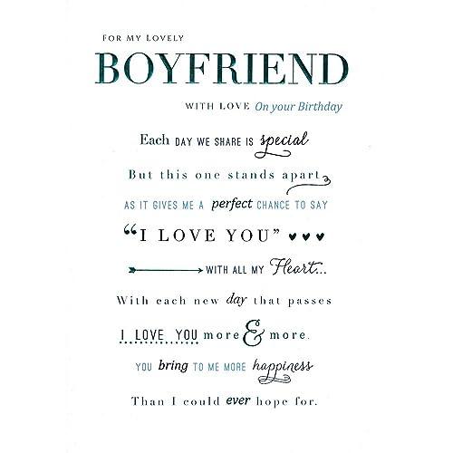 Birthday Card Boyfriend Amazon