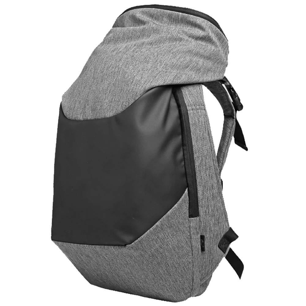 SHAN Outdoor Bergsteigenbeutel Schulter MäNnlichen Multifunktionsrucksack Diebstahlsicher Wasserdichte GroßE Reisetasche Grau 48  16  31cm