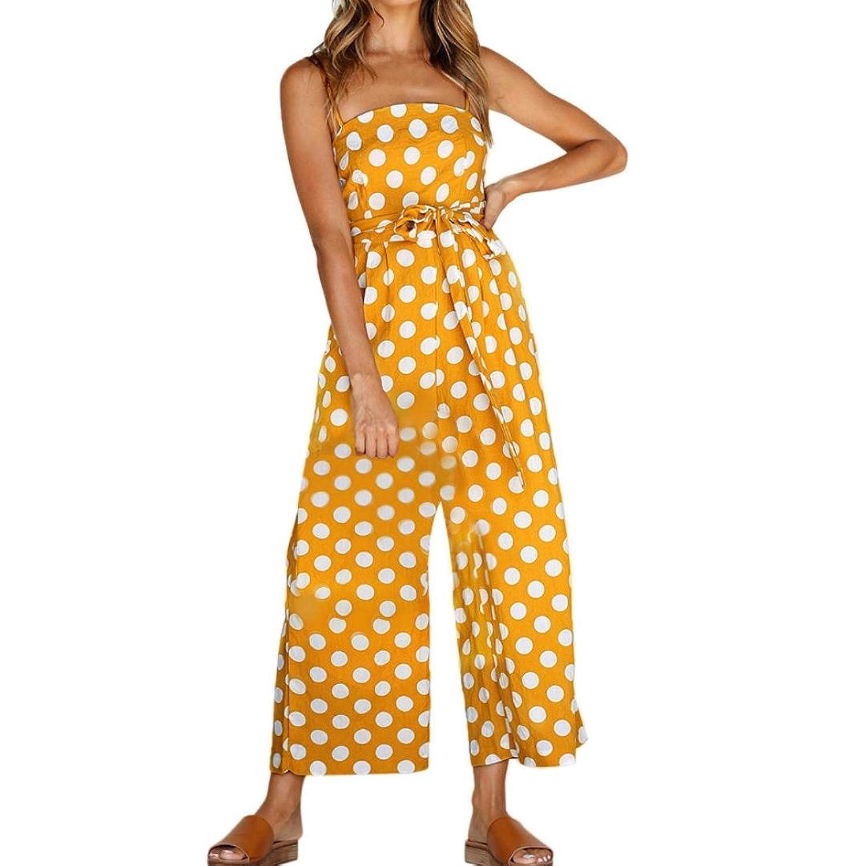 Damen Jumpsuit Elegant Lang Overall Eine Schulter Einteiler Sommer Hosenanzug