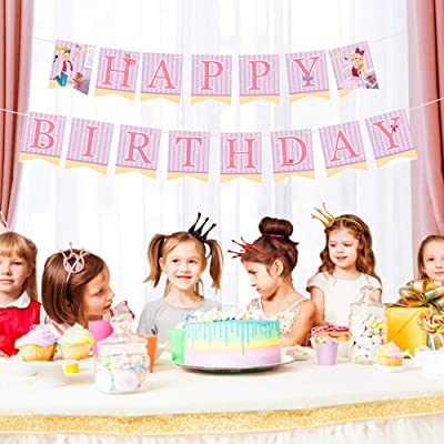 JOJO Siwa Happy Birthday Party Banner (Pre-assembled) – JOJO and Bow Bow Theme Party Supplies Decorations for Kids Girls Baby Shower Wall Door Outdoor Indoor Garden Decor: Toys & Games