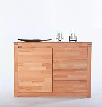 Massivmoebelversand De Sideboard Kernbuche Massiv Lackiert Amazon