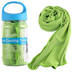 5. Cooling Towel, Great Chilling Sensation, Stay Cool for All Activities