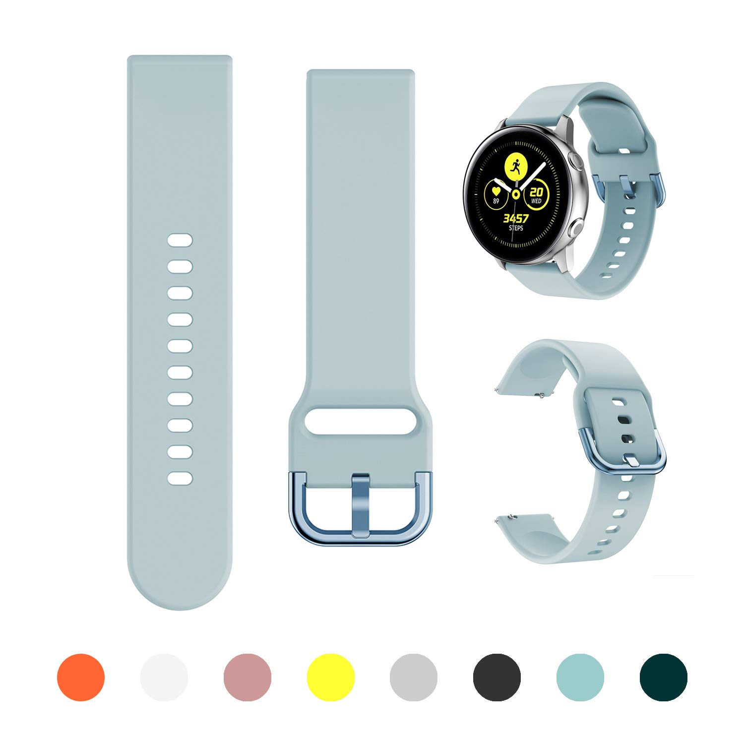 Malla Para Galaxy Watch Active/active2 40mm/44mm Azul