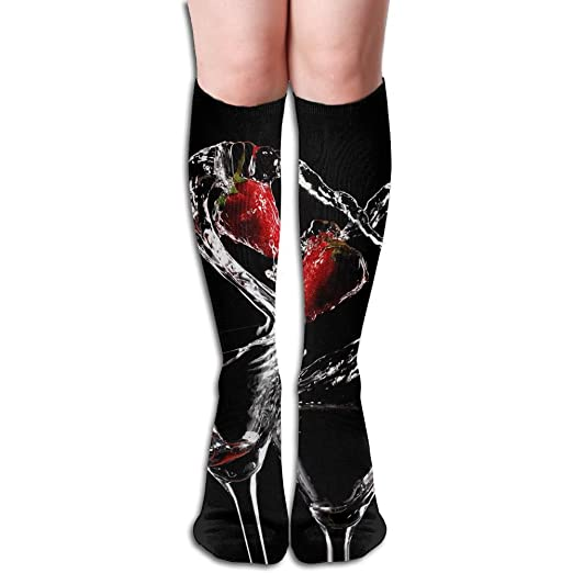 d6af2561c Image Unavailable. Image not available for. Color  Unisex Knee High Long  Socks Love Cocktail ...