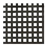 lattice under deck 0.2 in. x 48 in. x 8 ft. Black Privacy Square Plastic Lattice (Pack of 2)