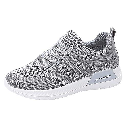 Zapatillas De Deporte Moda para Mujer Zapatillas Deportivas de Malla Transpirable para Mujer: Amazon.es: Zapatos y complementos
