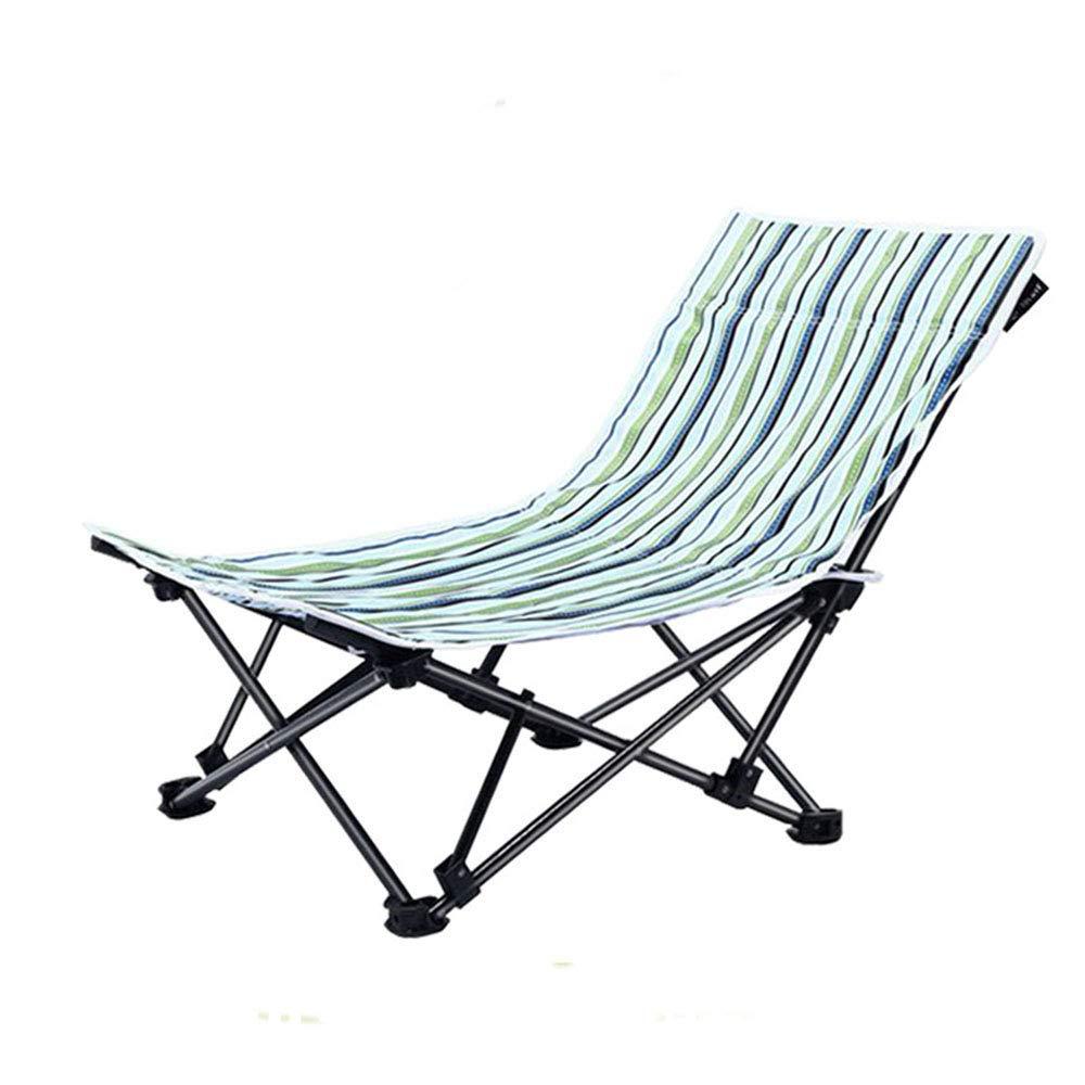 DYFAR Ultra léger Chaise Jardin Portable Pliante siège Plage, Chaise compacte avec Sac Transport pour randonnées pédestres randonnée Pique-Nique pêche Parc du Festival en Plein air Plage etc, Stripe  -