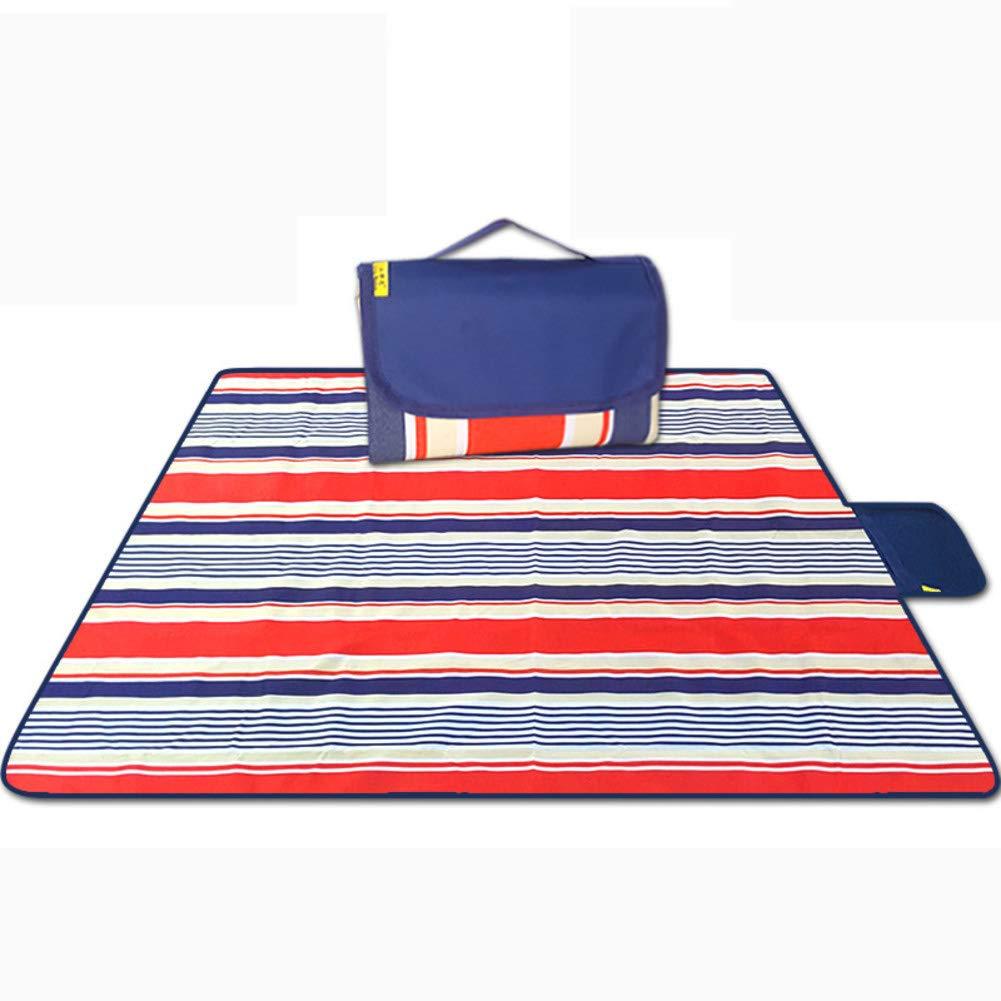 DsteLasyl Wasserdicht Picknickdecke,Outdoor-Faltbare Portable Sommerstrand PVC pad verschleißfesten Umweltschutz & wärmedämmung-G 200x200cm(79x79inch) B07PLFZ6DL | Haben Wir Lob Von Kunden Gewonnen