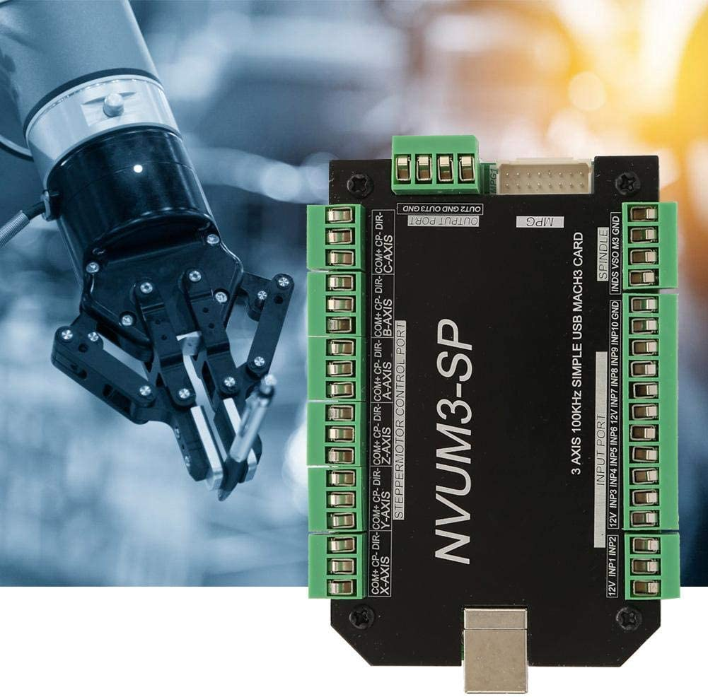 Motion Control Board USB Mach3 Stepper Motor Driver for Small and Medium Automation Equipment Instruments CNC Motion Controller