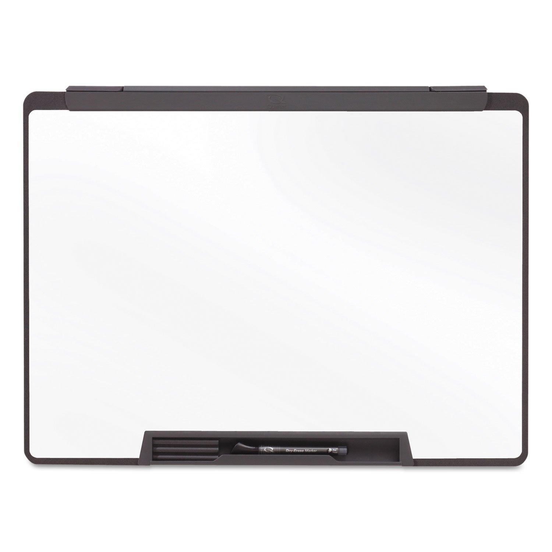 Quartet MMP75 Dry-Erase Board, Motion Cubicle, w/marker,36''x24'', Black by instrainclug