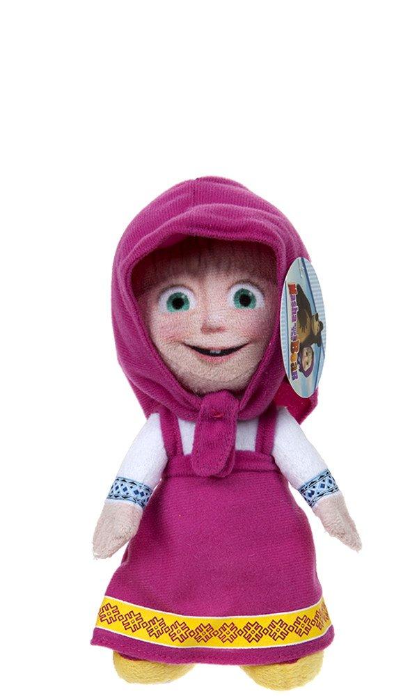 Masha y el Oso - Masha muñeco de peluche 25 cm 466032: Amazon.es: Juguetes y juegos