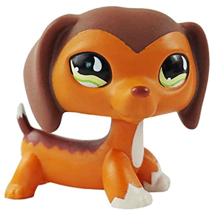 Amazoncom Littlest Pet Shop Dachshund Savvy Savvanah Reed Lps Dog