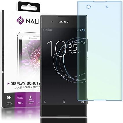 NALIA Cristal Templado Compatible con Sony Xperia XA1, Vidrio ...