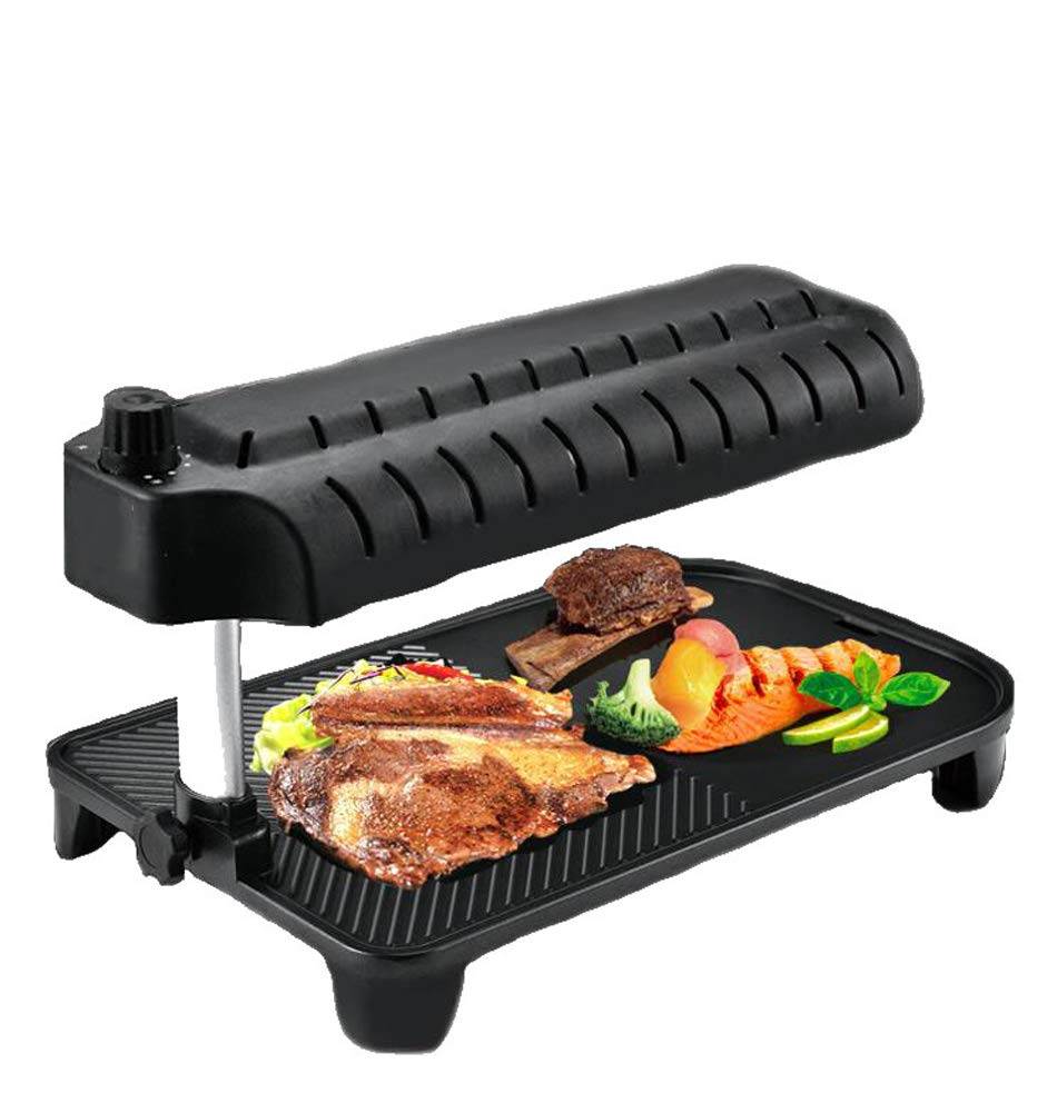 L&QQ Smokeless Barbecue Electric Grill,3D Infrared Oven Electric Bakeware for Home Garden Barbecue Tool Sets
