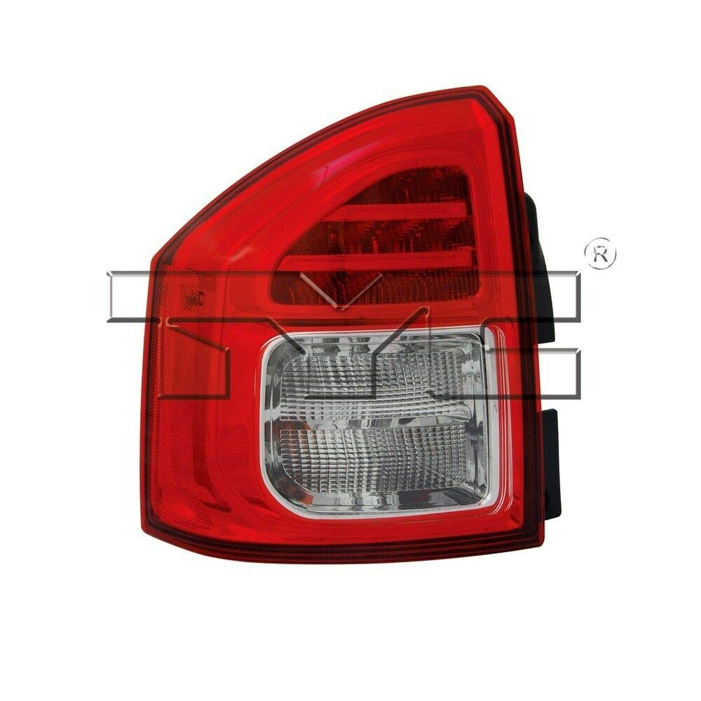 TYC 11-6447-00-9 Jeep Compass Right Replacement Tail Lamp