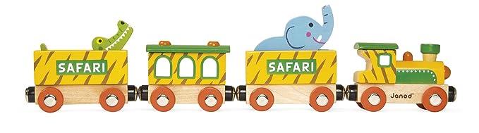 Janod - Safari Story Trenecito de madera (J08541)