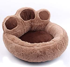 Pet Dog Bed/Round/Cat Cushion Bed,Warming Cat and Dog Bed Cushion for Joint,Improved Sleep,Machine Washable,Non-Slip Bottom