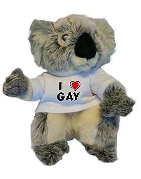 Gay La Camiseta Personalizada PeluchejugueteCon Koala De Amo En VMpUzqSG