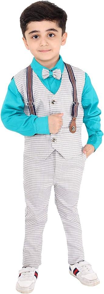 Fourfold - Juego de traje étnico de 3 piezas con corbata y chaleco ...