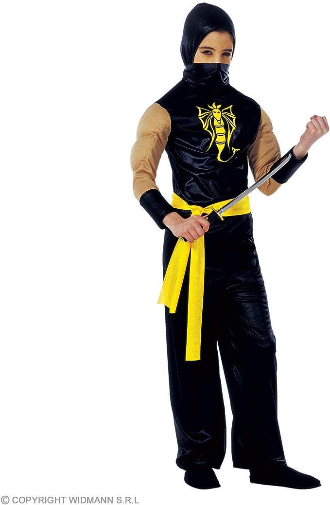 WIDMANN Widman - Disfraz de ninja chino para niño, talla 8-10 años ...