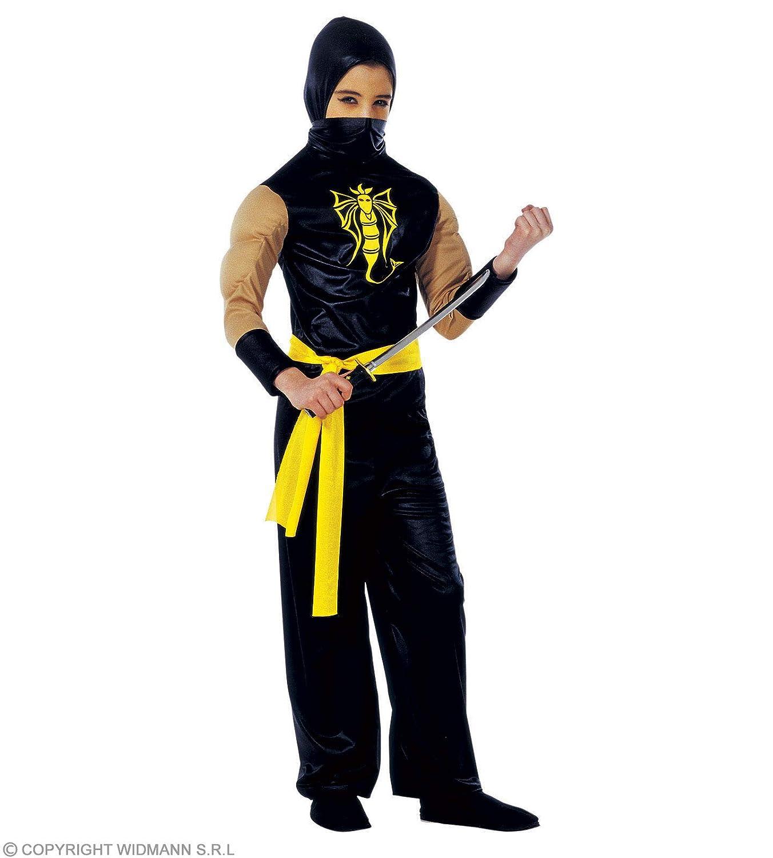 Amazon.com: Childrens Power Ninja 158cm Costume Large 11-13 ...