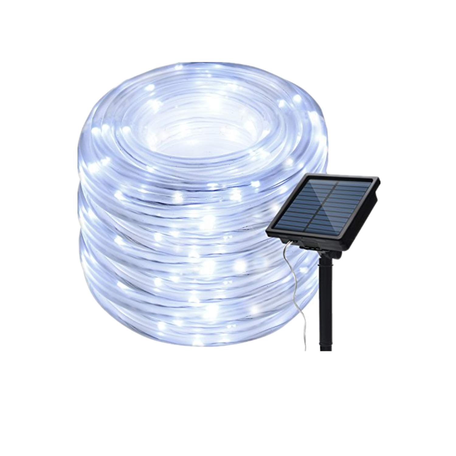 Solar Powered 200 LED Rope Lights By IMAGE