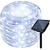 IMAGE 8 Modes Solar Rope Lights Outdoor String Lights 78.7Foot 20M Waterproof 200LED for Indoor Outdoor Garden Party…