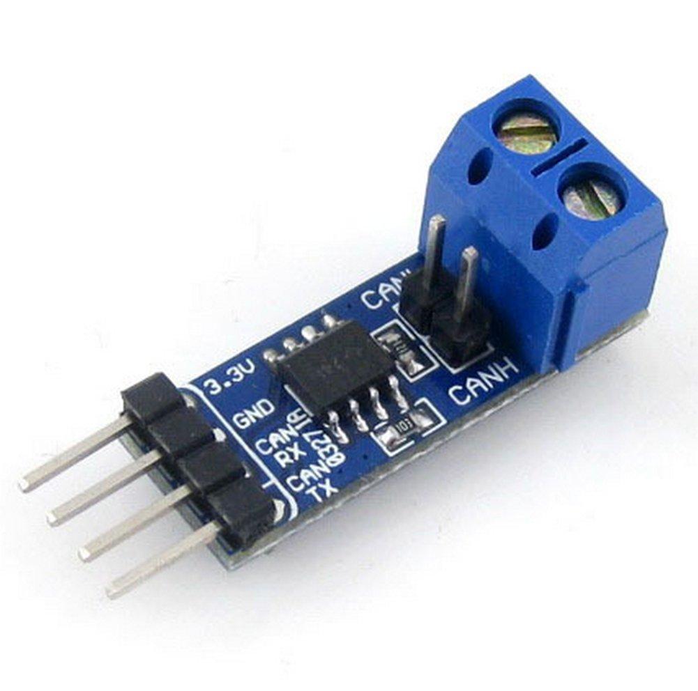 Demarkt SN65HVD230 CAN-Bus-Modul Kommunikationsmodul CAN-Bus-Transceiver Entwicklungs-Board Blau