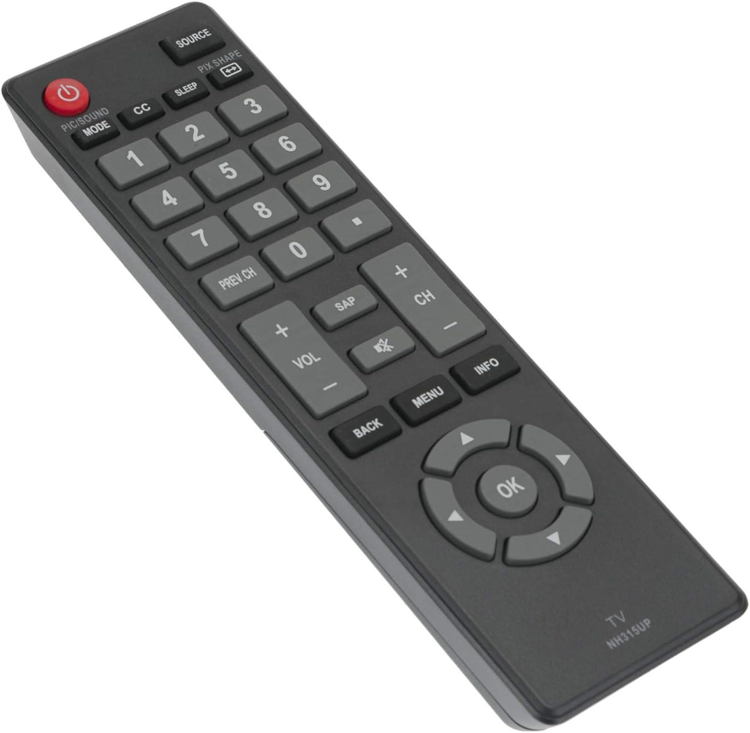 NH315UP - Mando a Distancia para televisores Sanyo LED HDTV ...