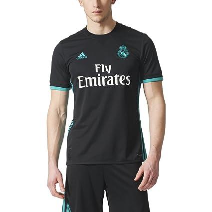 dc2959f215927 Amazon.com : adidas Real Madrid CF Away Jersey [Black] : Sports ...