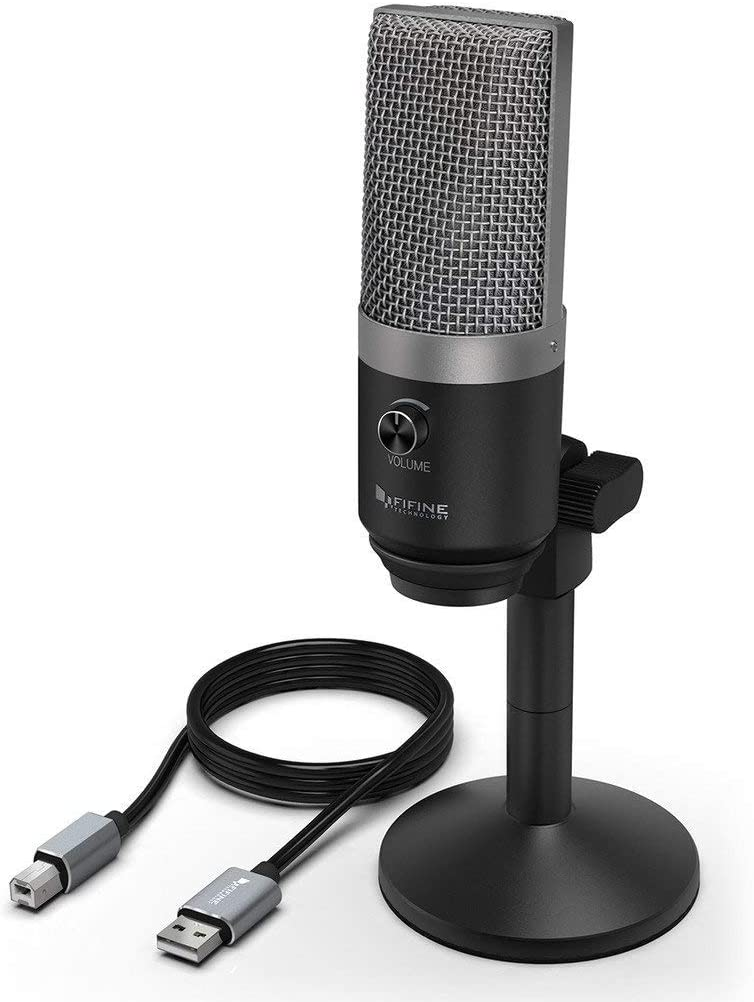 Fifine micrófono de condensador