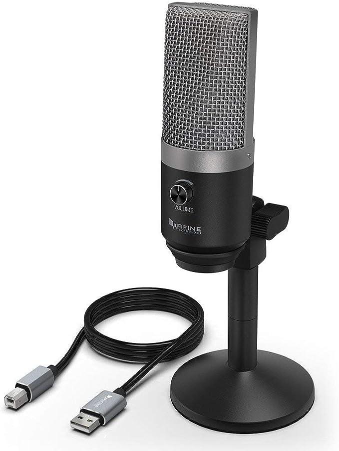 Fifine K670 Usb Microphone For Computer Condenser Elektronik