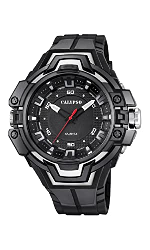 Calypso Watches Reloj Digital para Unisex de Cuarzo con Correa en Caucho K5687_7: CALYPSO: Amazon.es: Relojes