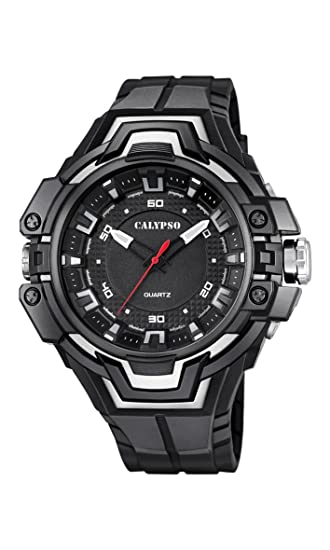 Calypso Watches Reloj Digital para Unisex de Cuarzo con Correa en Caucho K5687_7