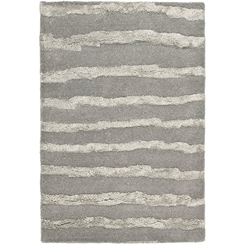 Safavieh Soho Collection SOH519A Handmade Grey Premium Wool Area Rug (2' x 3') ()